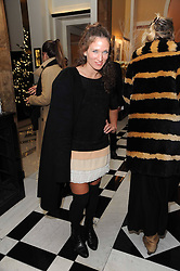 LULU KENNEDY at the launch of the Claridge's Christmas Tree designed by John Galliano for Dior held at Claridge's, Brook Street, London on 1st December 2009.