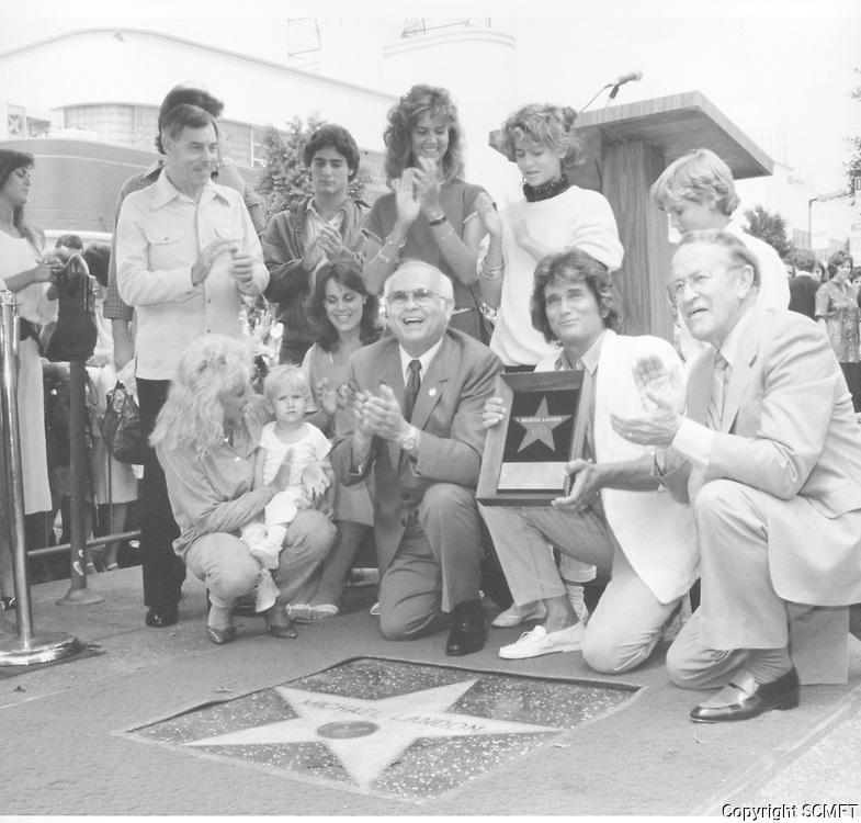 1984 Michael Landon's Walk of Fame ceremony