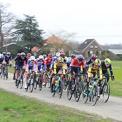29-02-2020: Wielrennen: Ster van Zwolle: Zwolle <br />Kopgroep ri Zwolle