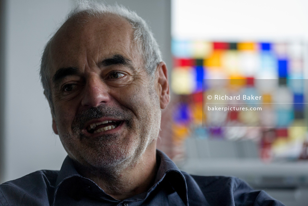 Mathematician and Risk guru, Professor Sir David Spiegelhalter at the Centre for Mathematical Sciences at the University of Cambridge.