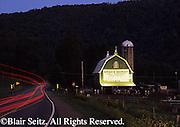 Americana barn and sign along Rt. 6 (road, highway), Crawford County, PA
