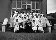 Bowling - Women's International  - Ireland, England, Scotland, Wales at Clontarf.Irish Team.20/06/1955
