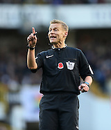Referee Mike Jones in action<br /> <br /> - Barclays Premier League - Tottenham Hotspur vs Stoke City- White Hart Lane - London - England - 9th November 2014  - Picture David Klein/Sportimage