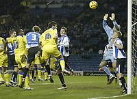 Photo: Aidan Ellis.<br /> Sheffield Wednesday v Cardiff City. Coca Cola Championship. 09/11/2005.<br /> Cardiff's Cameron Jerome scores the second goal