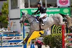 Van Vreckom Evelyne, BEL, Corbie V<br /> BK Young Horses 2020<br /> © Hippo Foto - Sharon Vandeput<br /> 6/09/20