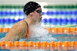 03-04-2015 NED: Swim Cup, Eindhoven<br /> Moniek Nijhuis wint de 100 meter school