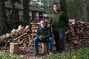 COLUMBIA, MD -- 12/20/14 -- Mark Johnson-Lewis, 48, and his son, Tyler Lewis, 22, talk about the complexity of being a biracial family..…by André Chung #_AC23199