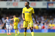 Kyle Bartley of Leeds United looks on. Skybet EFL championship match, Queens Park Rangers v Leeds United at Loftus Road Stadium in London on Sunday 7th August 2016.<br /> pic by John Patrick Fletcher, Andrew Orchard sports photography.
