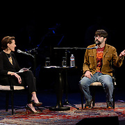 NHPR's Virginia Prescott interviews Hoe Hill at The Music Hall, May 16, 2016