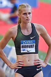 July 20, 2018 - Monaco, France - 400 metres dames - Anita Horvat  (Credit Image: © Panoramic via ZUMA Press)