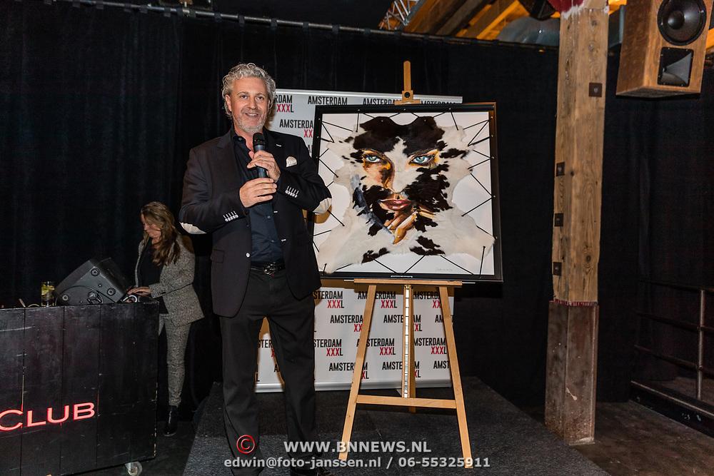 NLD/Amsterdam/20170324 - Uitreiking 2de editie XXXL Magazine,