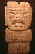 MEXICO, PRE-COLUMBIAN OLMEC, axe blade with human/jaguar face