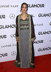 Manal al-Sharif at the 2018 Glamour Women Of the Year Awards: Women Rise at Spring Studios in New York City.