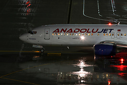 July 4, 2018 - The Boeing 737-800 of Anadolu Jet at Vnukovo International Airport, Moscow, Russia  (Credit Image: © Russian Look via ZUMA Wire)