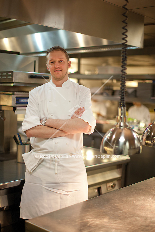 Tocqueville chef Jason Lawless in New York. ..Photo by Robert Caplin...