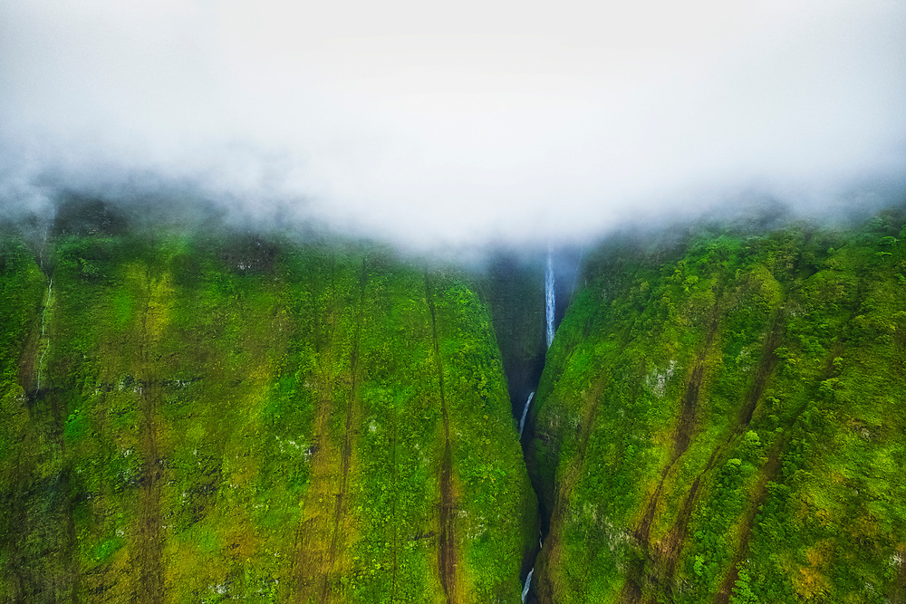 Took an open door helicopter flight through the Mountains of Maui.
