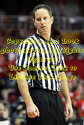 08 December 2012:  Bryan Anslinger during an NCAA mens basketball game between the Western Michigan Broncos and the Illinois State Redbirds (Missouri Valley Conference) in Redbird Arena, Normal IL