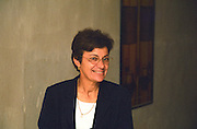 Madame Marie-Josée Pierre owner of Chateau Caillou in the winery Josee  Chateau Caillou, Grand Cru Classe, Barsac, Sauternes, Bordeaux, Aquitaine, Gironde, France, Europe