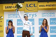 Poium, Pierre Latour (FRA - AG2R - La Mondiale) during the 105th Tour de France 2018, Stage 17, Bagneres de Luchon - Col du Portet (65 km) on July 25th, 2018 - Photo Luca Bettini / BettiniPhoto / ProSportsImages / DPPI
