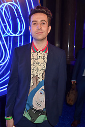 Nick Grimshaw at the Warner Music & Ciroc Brit Awards party, Freemasons Hall, 60 Great Queen Street, London England. 22 February 2017.