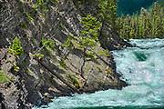 Bow Falls<br />Banff National Park<br />Alberta<br />Canada