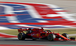 November 2, 2019, Austin, United States of America: Motorsports: FIA Formula One World Championship 2019, Grand Prix of United States, .#5 Sebastian Vettel (GER, Scuderia Ferrari Mission Winnow) (Credit Image: © Hoch Zwei via ZUMA Wire)