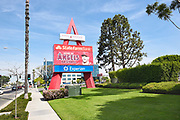 Angel Stadium Entrance Sign at State College Blvd