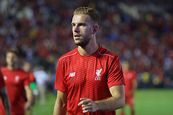 PASADENA, USA - Wednesday, July 27, 2016: Liverpool's captain Jordan Henderson before the International Champions Cup 2016 game against Chelsea on day seven of the club's USA Pre-season Tour at the Rose Bowl. (Pic by David Rawcliffe/Propaganda)
