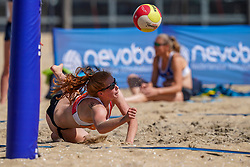 23-08-2019 NED; DELA NK Beach Volleyball Qualification, Scheveningen<br /> First day NK Beachvolleyball / Serena van der Made