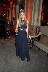 ELLA MAY SANGSTER at the Tatler Magazine's Kings & Queens party held at Savini at Criterion, Piccadilly, London on 1st June 2016.