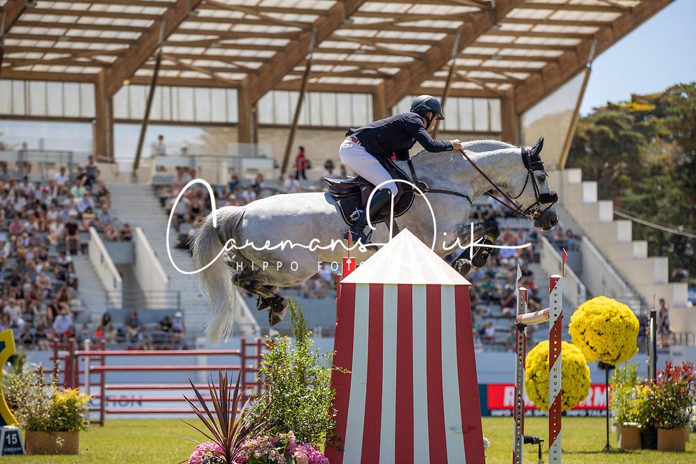 Allen Bertram, IRL, Harley van den Bisschop<br /> Grand Prix Longines De La Ville De La Baule<br /> CSIO La Baule 2021<br /> © Hippo Foto - Dirk Caremans<br />  13/06/2021