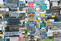 Signpost city, Watson Lake Yukon Canada