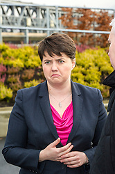 Pictured: Ruth Davidson<br /> <br /> Scottish Conservatives leader Ruth Davidson and shadow finance secretary Murdo Fraser, MSP, headed to Edinburgh Airport to meet Ahmet Serhat, Turkish Airlines General manager for Scotland, 4 years after the airline opened up the route from the capital to Ankera. Ms Davison was keen to discuss the expansion of the Scottish economy.<br /> <br /> Ger Harley | EEm 9 December 2016 Pictured: Ruth Davidson<br />
