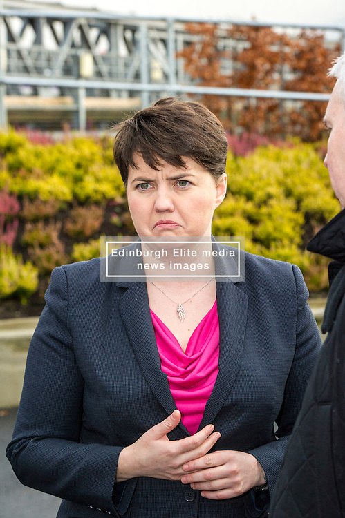 Pictured: Ruth Davidson<br /> <br /> Scottish Conservatives leader Ruth Davidson and shadow finance secretary Murdo Fraser, MSP, headed to Edinburgh Airport to meet Ahmet Serhat, Turkish Airlines General manager for Scotland, 4 years after the airline opened up the route from the capital to Ankera. Ms Davison was keen to discuss the expansion of the Scottish economy.<br /> <br /> Ger Harley   EEm 9 December 2016 Pictured: Ruth Davidson<br /> <br /> Scottish Conservatives leader Ruth Davidson and shadow finance secretary Murdo Fraser, MSP, headed to Edinburgh Airport to meet Ahmet Serhat Sari, Turkish Airlines General manager for Scotland, 4 years after the airline opened up the route from the capital to Ankera. Ms Davison was keen to discuss the expansion of the Scottish economy.<br /> <br /> Ger Harley   EEm 9 December 2016