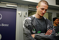 Fotball, 10. februar 2009 ,Trening foran privat-kampen mellom Norge og Tyskland<br /> Brede Hangeland