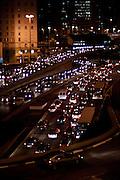 Sao Paulo_MG, Brasil...Transito na Avenida Prestes Maia, Praca da Bandeira, em Sao Paulo...The traffic in the Prestes Maia avenue, Bandeira square, in Sao Paulo...Foto: MARCUS DESIMONI / NITRO