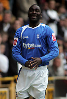 Photo: Paul Thomas.<br /> Wolverhampton Wanderers v Birmingham City. Coca Cola Championship. 22/04/2007.<br /> <br /> Andy Cole of Birmingham celebrates his goal.