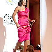 Susan Roberts and her dog Abbi strut their stuff at the Washington Humane Society's 2010 Fashion For Paws charity event at the Italian Embassy in Washington, D.C. (Photo by Kyle Gustafson)