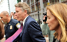 Felicity Huffman seen at Boston Courthouse to plead guilty - 13 May 2019