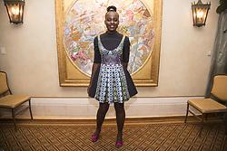 January 30, 2018 - Hollywood, CA, USA - Lupita Nyong'O stars in the movie Black Panther (Disney) Marvel (Credit Image: © Armando Gallo via ZUMA Studio)