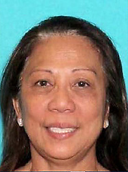 Oct 2, 2017 - Las Vegas, Nevada, U.S. - MARILOU DANLEY, the woman described as the girlfriend of the Las Vegas mass shooter has been detained, and is no longer a person of interest, according to news reports. Danley, 62, an Australian of Asian heritage, was described as the alleged shooter Stephen Paddock's roommate. (Credit Image: © Las Vegas Metropolitan Police Department via ZUMA Wire)