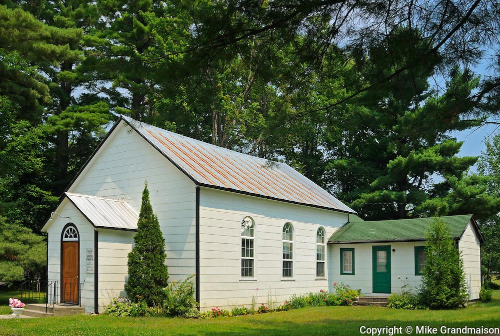 Muskoka Falls United Church<br /> Muskoka Falls<br /> Ontario<br /> Canada