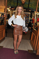 LAUREN POPE attends the premier of 2012 Cirque du Soleil's Totem at the Royal Albert Hall, London on 5th January 2012,