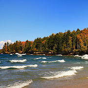 """Great Lakes Autumn Waves""<br />