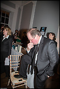 AMANDA RIDOUT; JAMES NAUGHTIE, James Naughtie: The Madness of July published by Head of Zeus - book launch party, ICA, London. 25 February 2014.