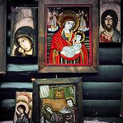 They like Jesus, Bran, Romania (July 2005)