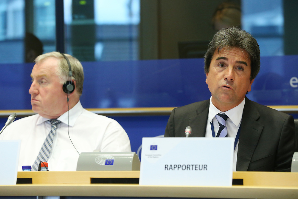 11 May 2017, 123rd Plenary Session of the European Committee of the Regions <br /> Belgium - Brussels - May 2017 <br /> <br /> Mr Roberto Pella ( IT/EPP)<br /> <br /> © European Union / Patrick Mascart
