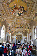 Italy, Rome, Interior of The Vatican Museum