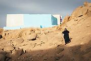 An old woman in Heisa Island