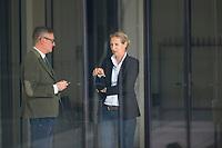 DEU, Deutschland, Germany, Berlin, 28.09.2020: Alice Weidel, Vorsitzende der AfD-Bundestagsfraktion, am Rande einer Sitzung der AfD-Fraktion im Deutschen Bundestag.
